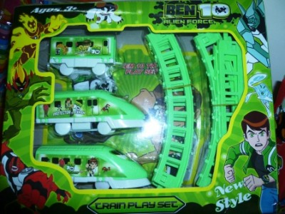 Ben10 Battery Operated Train Set
