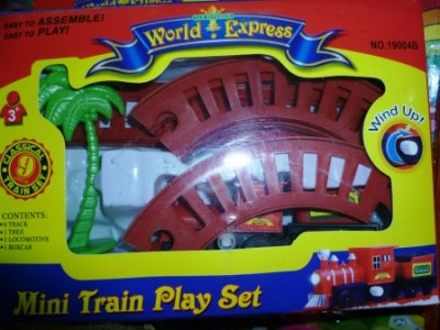 Mini Train Play Set